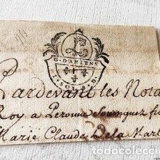 Billetes con errores: RARO BILLETE O CARTA DE PAGO EPOCA NAPOLEON.FRANCIA.. Lote 179249370