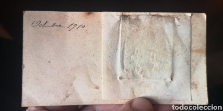 Billetes con errores: Extraño billete del Banco de España con fotografía de dama, finales del siglo 19 principios del sigl - Foto 2 - 184697706