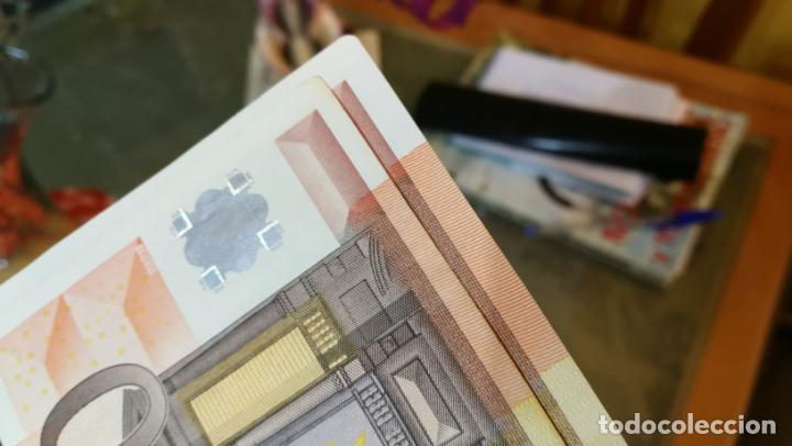 Billetes con errores: BILLETE DE 50e. CON VARIOS ERRORES, FALLAS O DEFECTOS QUE A CONTINUACIÓN ENUMERO - Foto 6 - 189899040