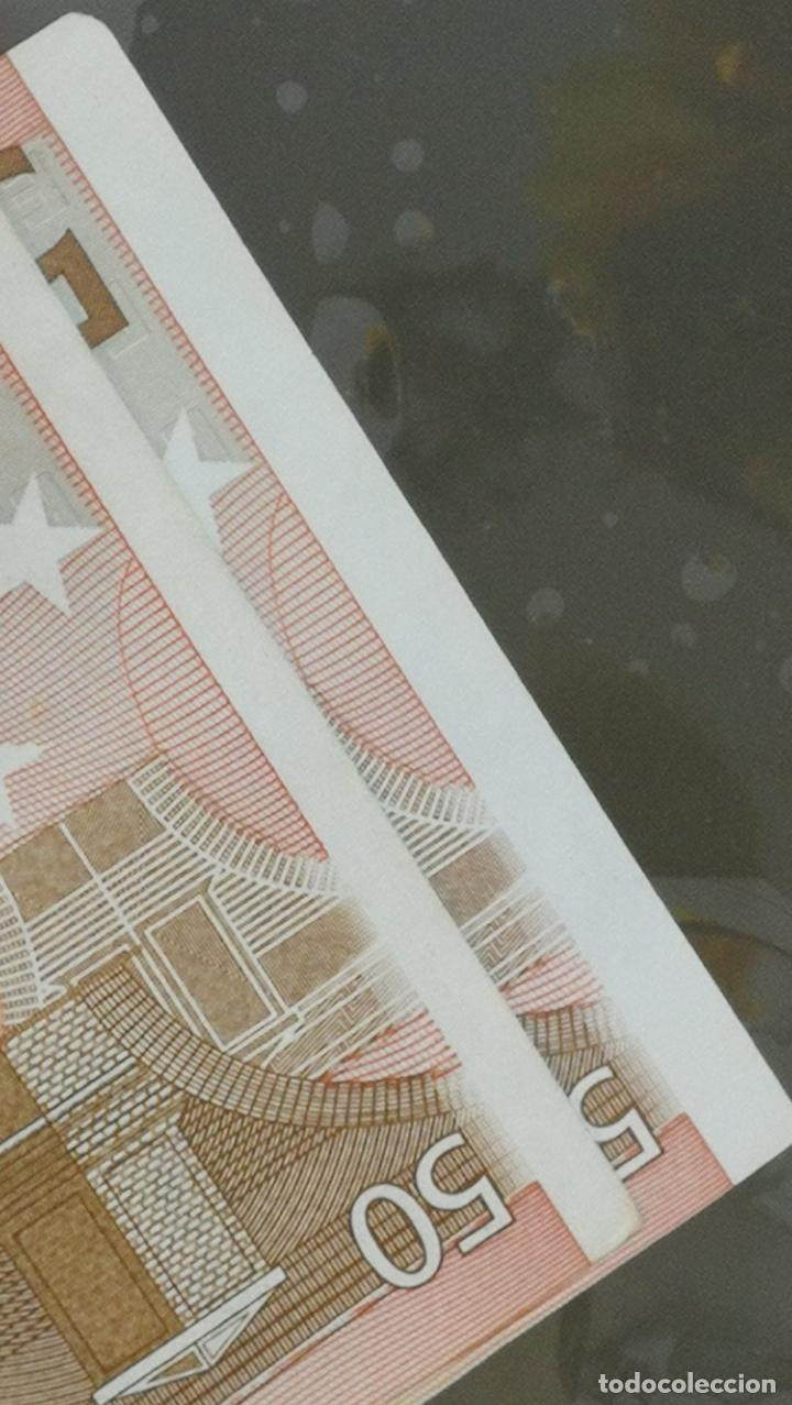 Billetes con errores: BILLETE DE 50e. CON VARIOS ERRORES, FALLAS O DEFECTOS QUE A CONTINUACIÓN ENUMERO - Foto 9 - 189899040