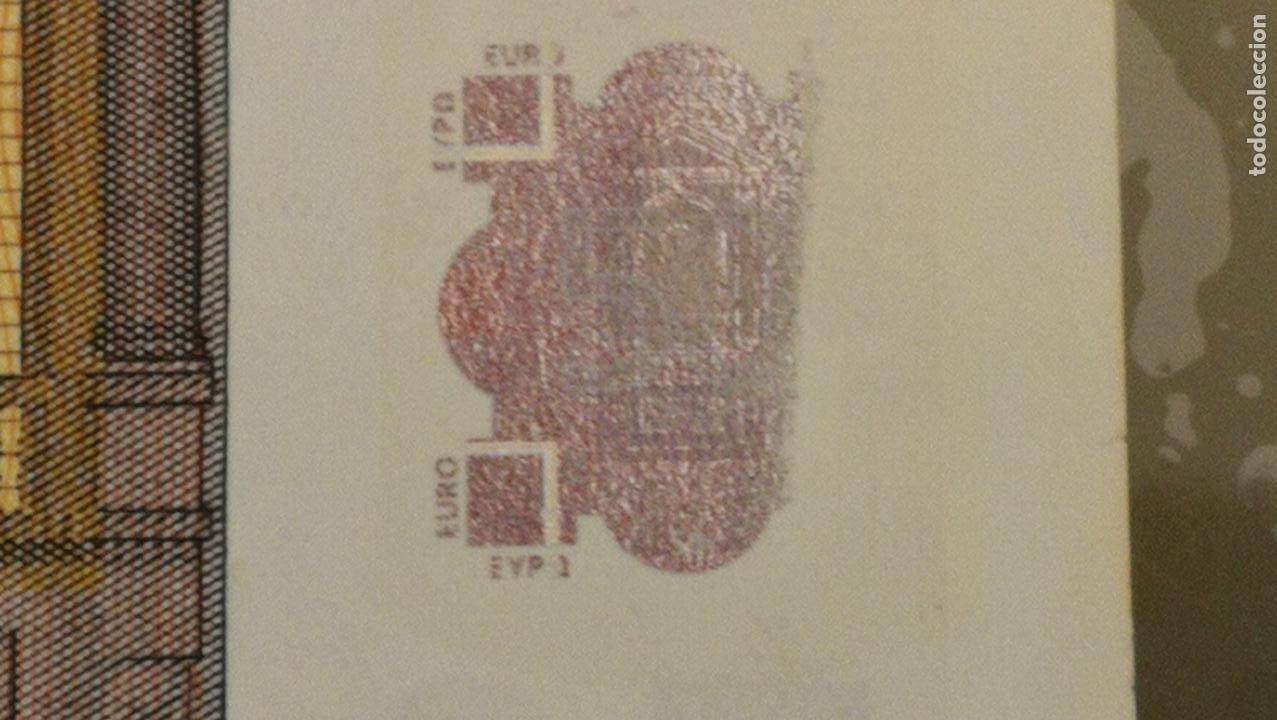 Billetes con errores: BILLETE DE 50e. CON VARIOS ERRORES, FALLAS O DEFECTOS QUE A CONTINUACIÓN ENUMERO - Foto 17 - 189899040