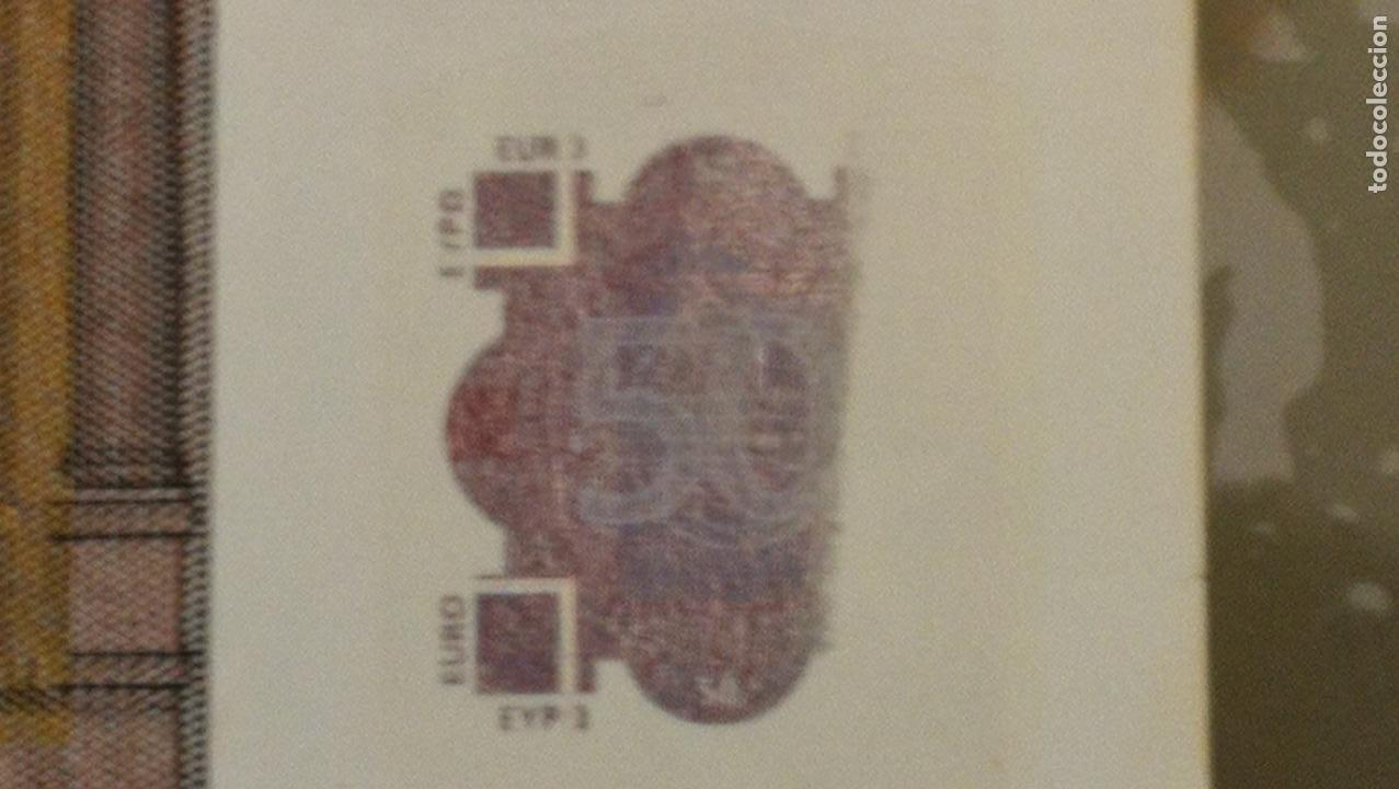 Billetes con errores: BILLETE DE 50e. CON VARIOS ERRORES, FALLAS O DEFECTOS QUE A CONTINUACIÓN ENUMERO - Foto 19 - 189899040