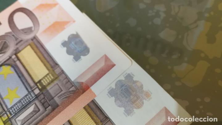 Billetes con errores: BILLETE DE 50e. CON VARIOS ERRORES, FALLAS O DEFECTOS QUE A CONTINUACIÓN ENUMERO - Foto 22 - 189899040