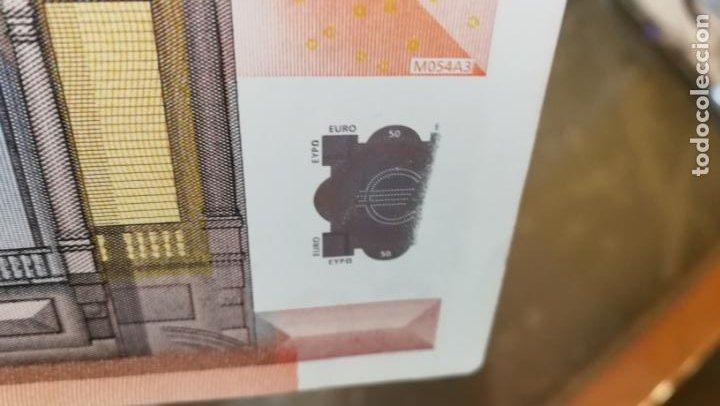 Billetes con errores: BILLETE DE 50e. CON VARIOS ERRORES, FALLAS O DEFECTOS QUE A CONTINUACIÓN ENUMERO - Foto 24 - 189899040