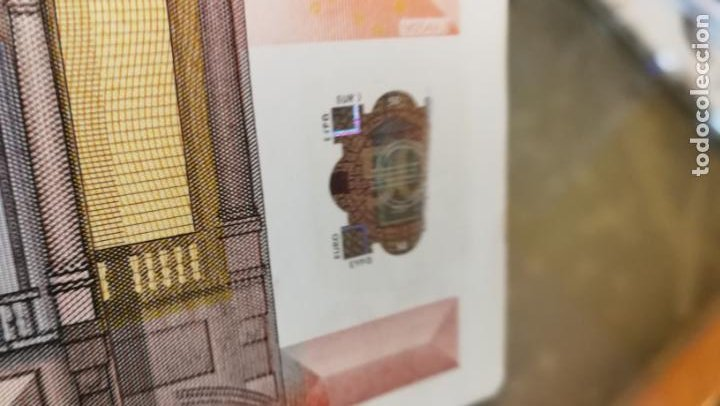 Billetes con errores: BILLETE DE 50e. CON VARIOS ERRORES, FALLAS O DEFECTOS QUE A CONTINUACIÓN ENUMERO - Foto 25 - 189899040
