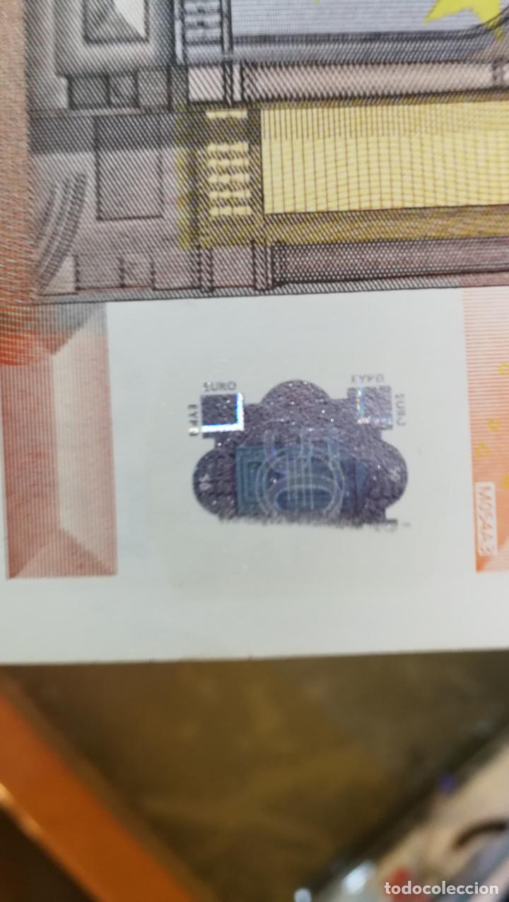 Billetes con errores: BILLETE DE 50e. CON VARIOS ERRORES, FALLAS O DEFECTOS QUE A CONTINUACIÓN ENUMERO - Foto 26 - 189899040