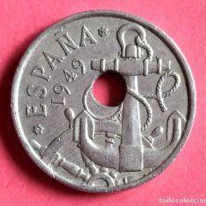 Billetes con errores: ## ERROR - 50 CENT 1949+62 TALADRO DESPLAZADO ##. Lote 193361778