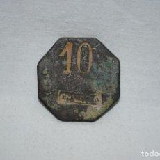 Billetes con errores: ANTIGUA FICHA A IDENTIFICAR .. Lote 194331158