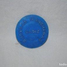 Billetes con errores: BODEGAS MANCHEGAS CADIZ .. Lote 195131333