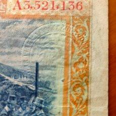 Billetes con errores: BILLETE 100 PESETAS 1925 SELLO EN SECO REPUBLICA FELIPE II. Lote 207489922