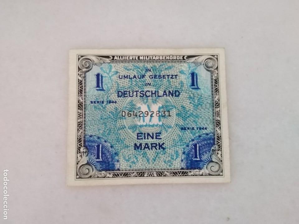 BILLETE NAZI SEGUNDA GUERRA MUNDIAL SIN CIRCULAR (Numismática - Notafilia - Variedades y Errores)