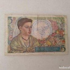 Billetes con errores: BILLETE SEGUNDA GUERRA MUNDIAL OCUPACIÓN NAZI FRANCIA.. Lote 215705803