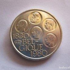 Notas com erros: BELGICA . 500 FRANCOS DE PLATA DE 1980 . TAMAÑO GRANDE . TOTALMENTE NUEVA. Lote 223892563