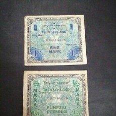Billetes con errores: BONITO BILLETES ALEMANES SEGUNDA GUERRA MUNDIAL. Lote 225245948
