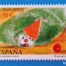 Notas com erros: ESPAÑA - SELL0- 0,50 EUROS CIRCO EUROPA 2002 ( T999 ). Lote 238732155