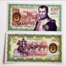 Banconote con errori: FRANCIA 100 FRANCS 2020 NAPOLEON BONAPARTE POLYMER UNC (LEER CONDICIONES DE VENTA EN DESCRIPCION. Lote 261995365