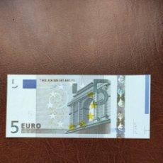 Banconote con errori: 5 EUROS ALEMANIA CON SOBRA PAPEL. Lote 268132614