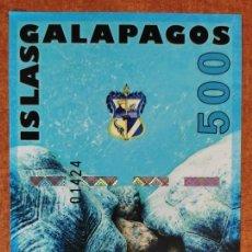 Billetes con errores: ISLAS GALÁPAGOS. BILLETE DE FANTASÍA. Lote 275060658