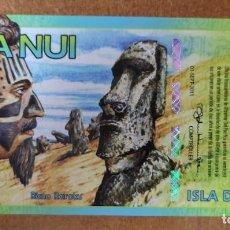 Billetes con errores: ISLA DE PASCUA. 500 RONGO. BILLETE DE FANTASÍA. Lote 275060993