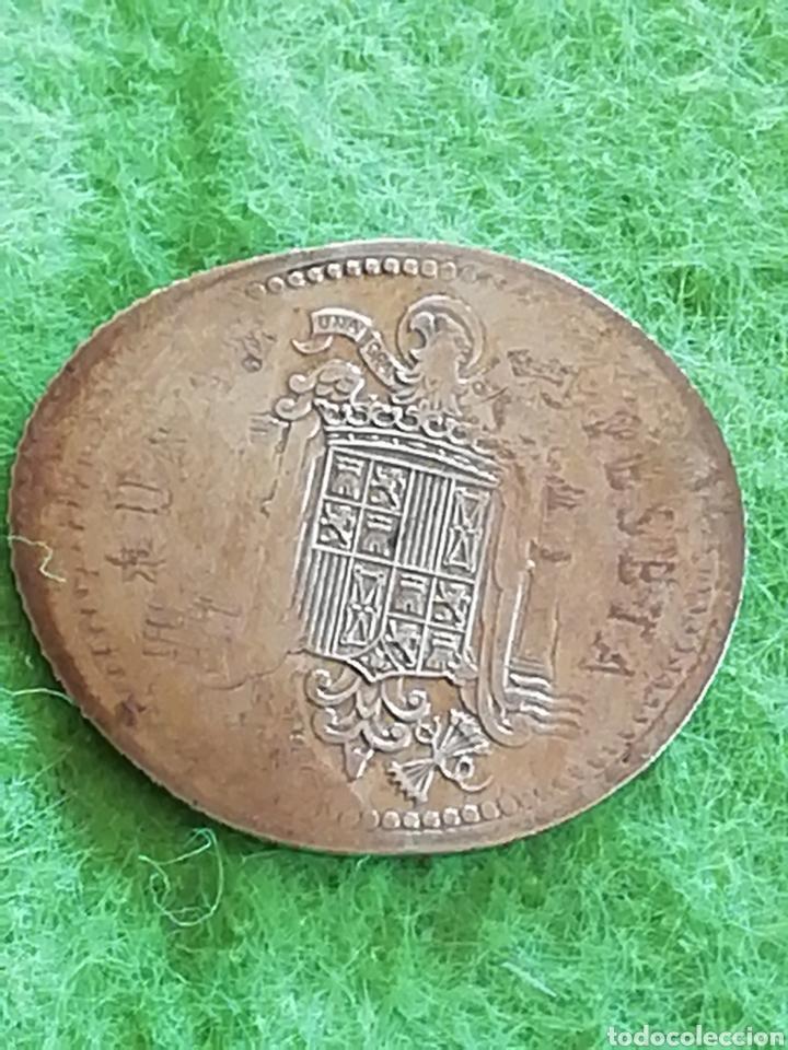 Billetes con errores: ERROR .Moneda de una peseta de Juan Carlos I. Estirada.. No se si es un error o manipulada. - Foto 2 - 276994783