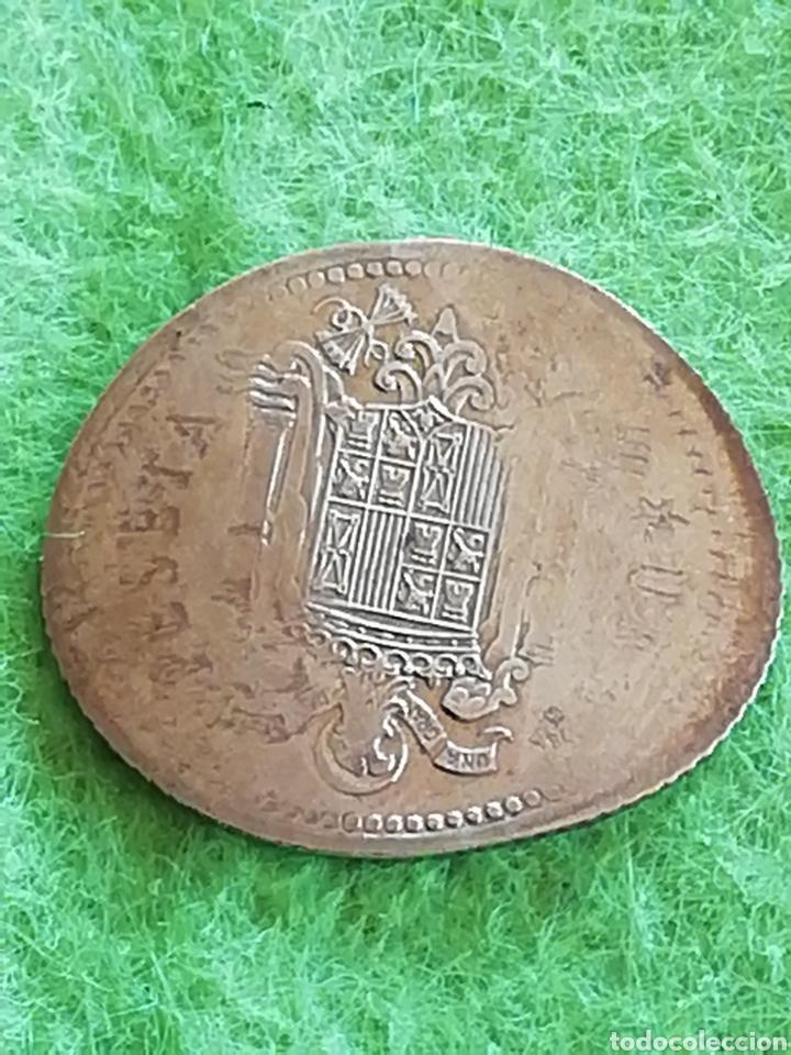 Billetes con errores: ERROR .Moneda de una peseta de Juan Carlos I. Estirada.. No se si es un error o manipulada. - Foto 3 - 276994783