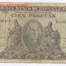 Billetes españoles: 100 PESETAS- 09-01-1940. Lote 934060