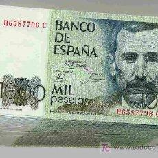 Billetes españoles: LOTE 10 BILLETES 1000 PESETAS 1979 PLANCHA CORRELATIVOS PEREZ GALDOS. Lote 25774062