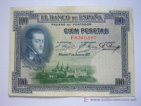 BILLETE DE 100 PESETAS (Numismática - Notafilia - Billetes Españoles)