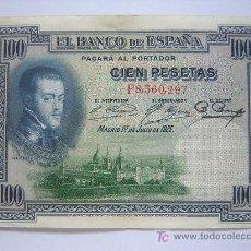Billetes españoles: BILLETE DE 100 PESETAS. Lote 26285892