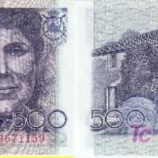 Billetes españoles: BILLETE DE 500 PESETAS. 1979. SERIE ESPECIAL 9A. PLANCHA. (435).. Lote 23942436