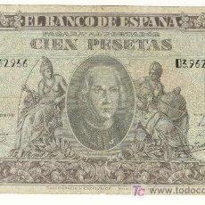 Billetes españoles: MUY DECENTES 100 PESETAS 9 ENERO 1940 COLON . Lote 26495726