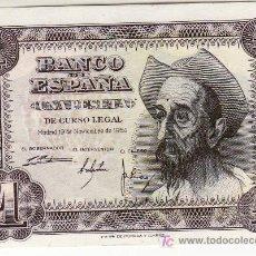 Billetes españoles: BILLETE DE UNA PESETA. NOVIEMBRE 1951. SIN CIRCULAR.. Lote 24676913