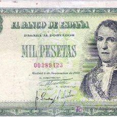 Billetes españoles: LOTE DE 2 MAGNÍFICOS BILLETES.. Lote 7638610