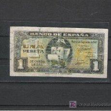 Billetes españoles: BILLETE DE 1 PTS. DE 1940 . Lote 19472449