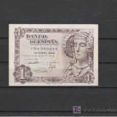 Billetes españoles: BILLETE DE 1 PTS. DE 1948. Lote 7945780