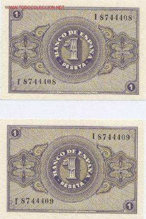 Billetes españoles: - Foto 2 - 1780427