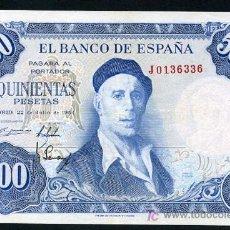 Billetes españoles: BILLETE 500 PESETAS 1954 , EBC- , SERIE J , T336. Lote 27336784