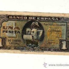 Billetes españoles: 1 PESETA 4 SEPTIEMBRE 1940 EN SERIE E. Lote 11501555