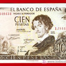 Billetes españoles: BILLETE 100 PESETAS 1965 , MBC , SERIE 1J , T434. Lote 24222699
