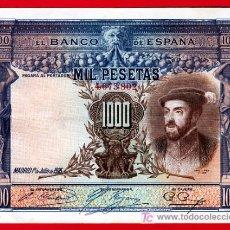 Billetes españoles: BILLETE 1000 PESETAS 1925 , MBC+ , SIN SERIE , T802. Lote 27336762