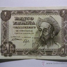 Billetes españoles: BILLETE DE 1 PTS REF BI013. Lote 26364545