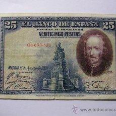 Billetes españoles: BILLETE DE 25 PESETAS REF BI004. Lote 26392514