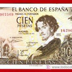 Billetes españoles: BILLETE 100 PESETAS 1965 , MBC , SERIE 1Q , T569. Lote 24849825