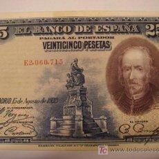 Billetes españoles: BILLETE DE 25 PTS. Lote 25808135
