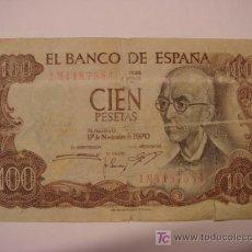 Billetes españoles: BILLETE DE 100 PTS. Lote 25808136