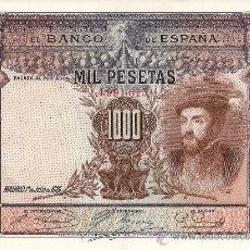 Billetes españoles: MIL PESETAS. Lote 18329628