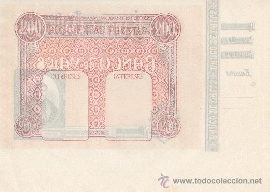 Billetes españoles: O F E R T A !! 4 BILLETES BANCO VALLS.OBLIGACIONES.TARRAGONA.BONO.PAPEL MONEDA.MOSSOS ESCUADRA. BANC - Foto 7 - 46906304