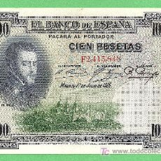 Billetes españoles: 1925 BILLETE DE 100 PESETAS FELIPE II. Lote 14808110