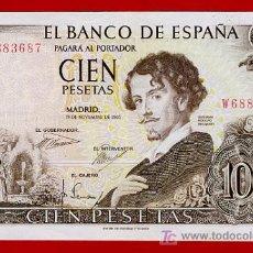 Billetes españoles: BILLETE 100 PESETAS 1965 , MBC++ , SERIE W , T687. Lote 23297736