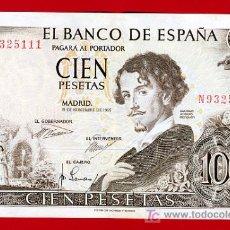 Billetes españoles: BILLETE 100 PESETAS 1965 , MBC , SERIE N , T111. Lote 27097139